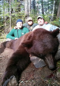 Idaho black bear outfitter