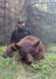 Giant Idaho Bear Trophy