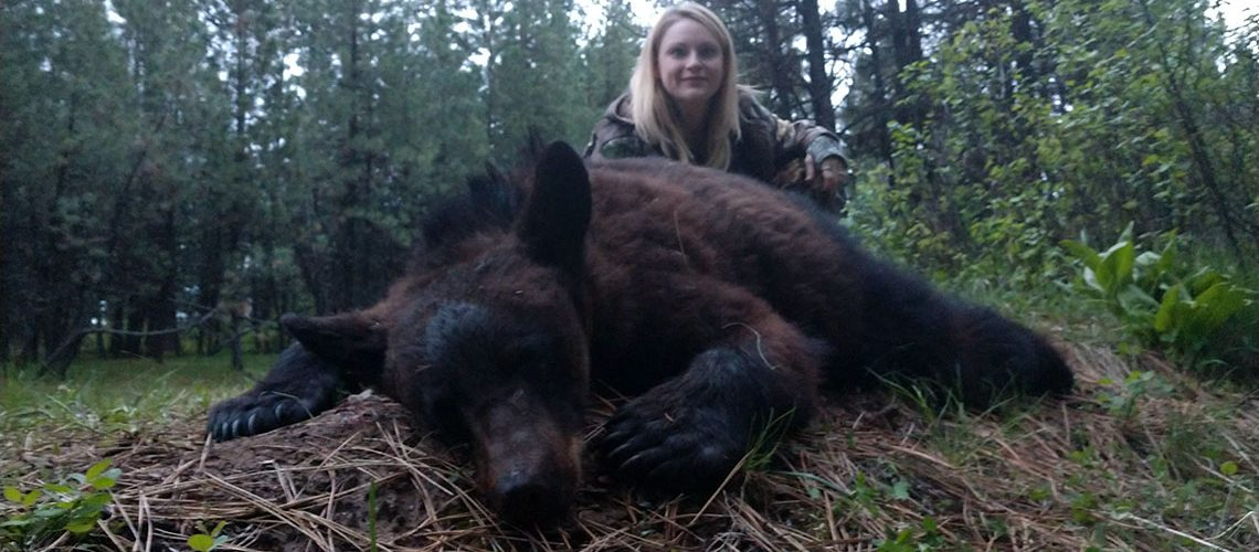 Monster Black Bear